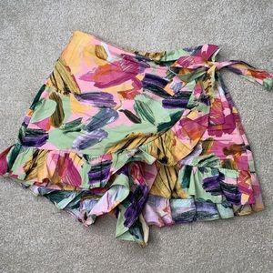 Zara Other - Zara Floral Print Skort and Top